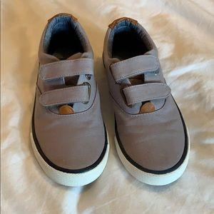 Tommy Hilfigire Velcro boat shoes size 12